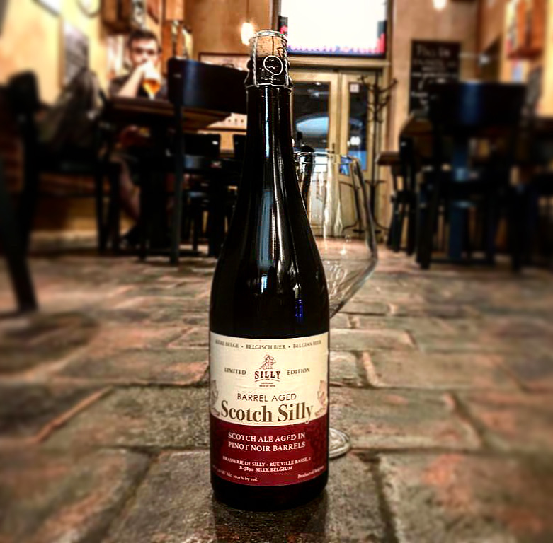 Gulden Draak Bierhuis - 14.7. 2020 SCOTCH SILLY BARREL AGED PINOT NOIR