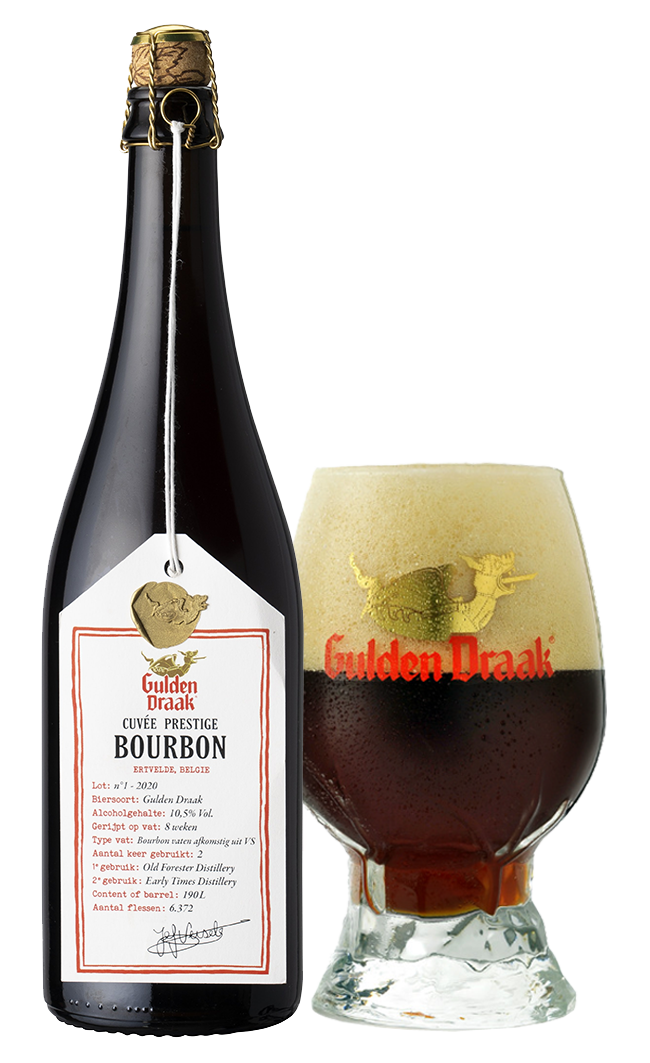 Gulden Draak Cuvée Prestige Bourbon foto