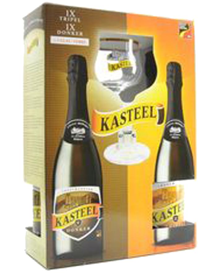 Kasteel - Dárkový Set - Láhve 750ml foto