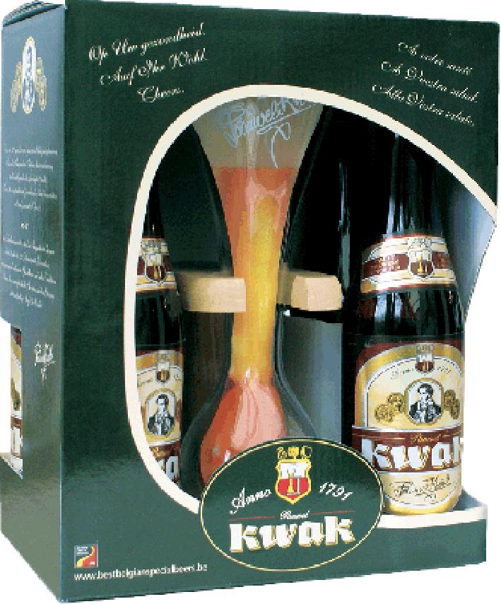 Kwak kufřík 4 + sklenice foto