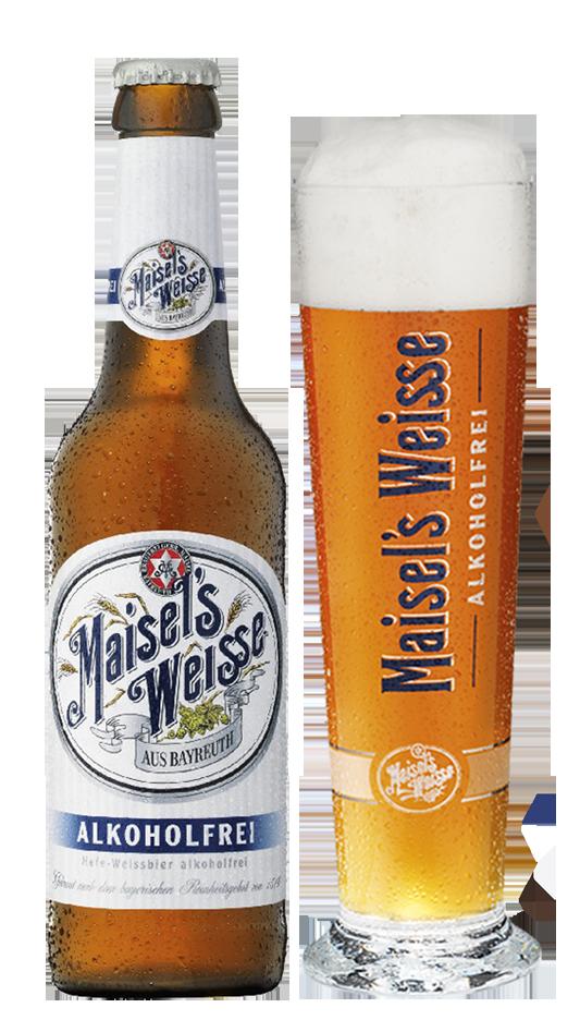 Maisel's Weisse alkoholfrei foto